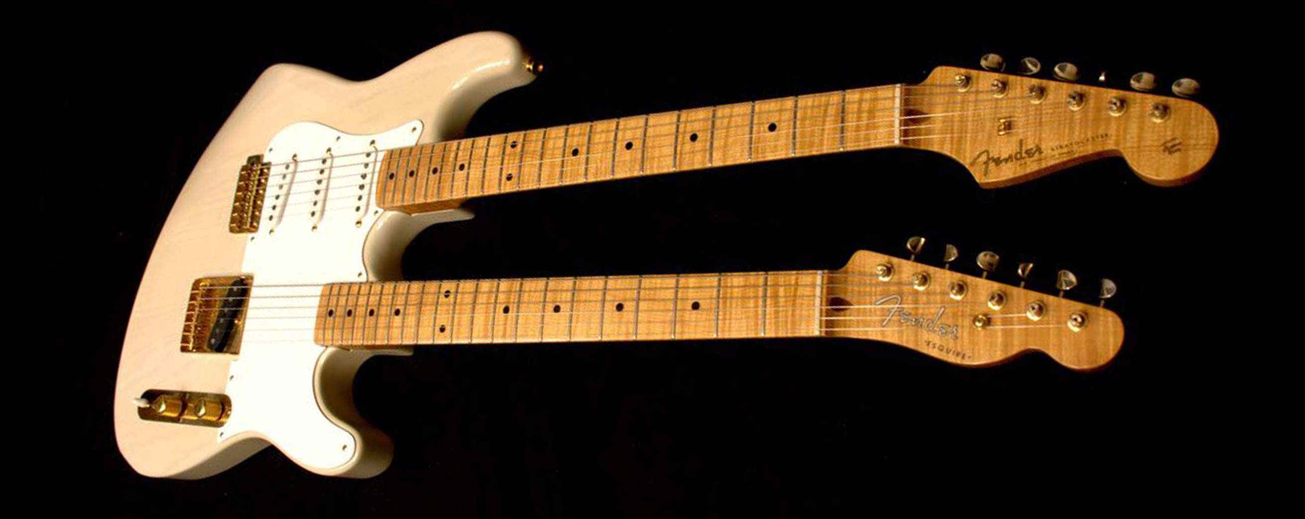 Original Master Builder Michael Stevens' unique Stratocaster/Esquire is widely known to be the Custom Shop's first build.