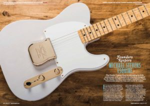 The Guitar Magazine - August 2017 featured on Michael Stevens